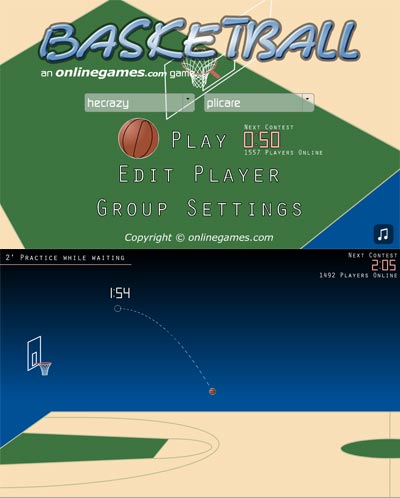 juego online baloncesto