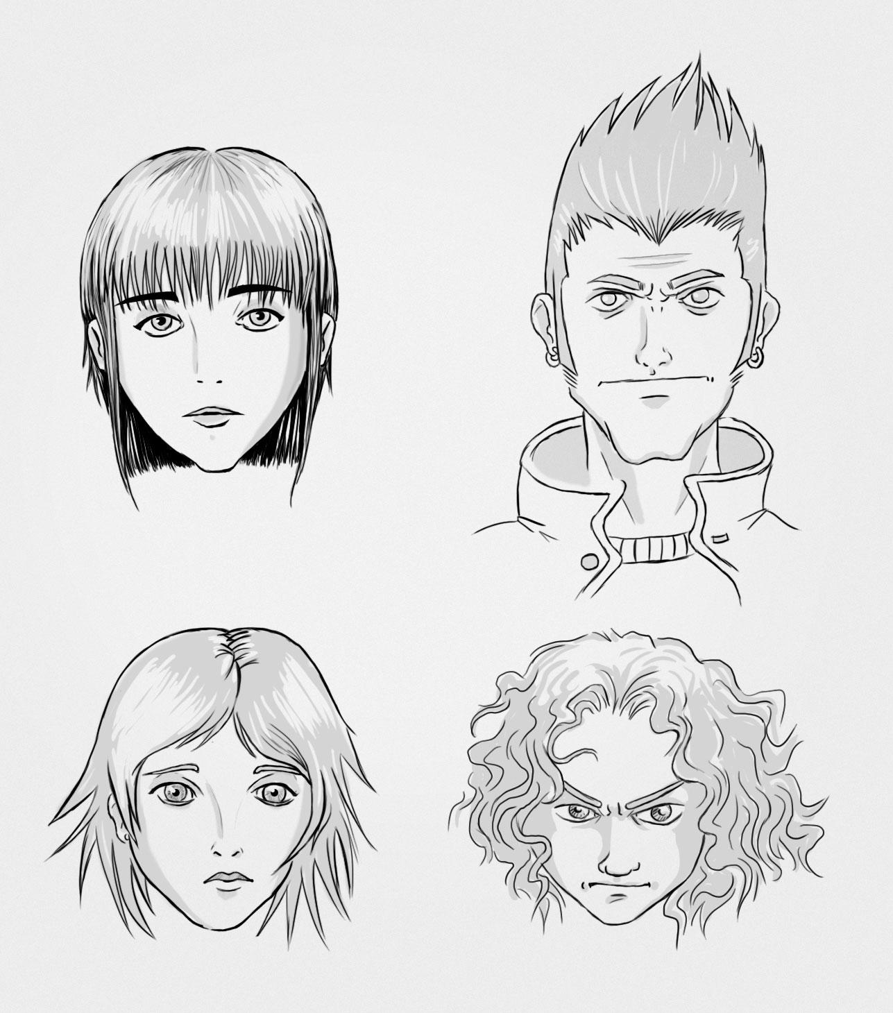 Fundamentos para dibujar rostros- Raúl Ballester Diseñador Gráfico ...