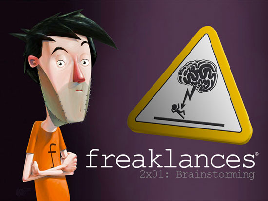 Freaklances2x01: Brainstorming