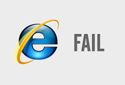 Internet Explorer 8 es incompatible con Internet