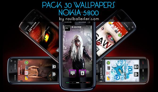 30 Wallpapers Nokia 5800