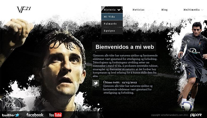 victorfernandez21.com finalista en los IV premios Web de la Región de Murcia
