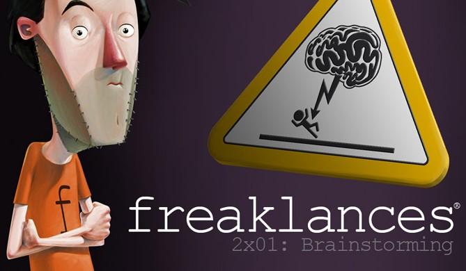 Freaklances 2×01. Braingstorming. Segunda Temporada